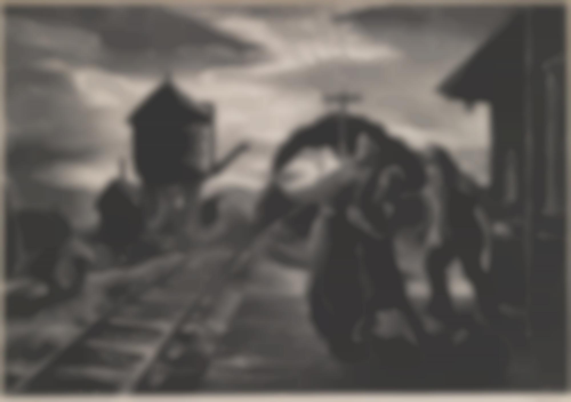 Thomas Hart Benton-Morning Train (Soldier'S Farewell) (F. 58)-1953