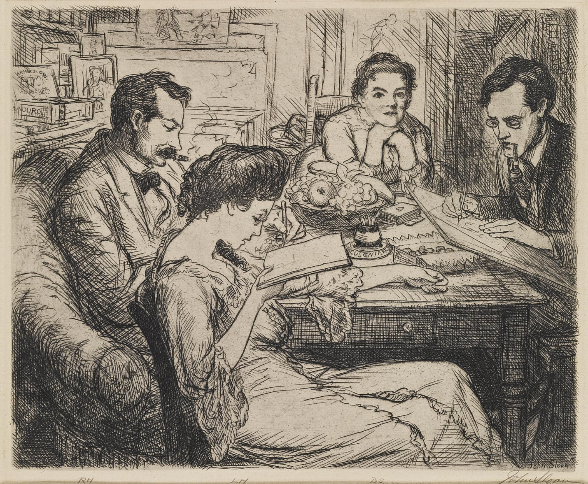 John Sloan-Memory (M. 136)-1906