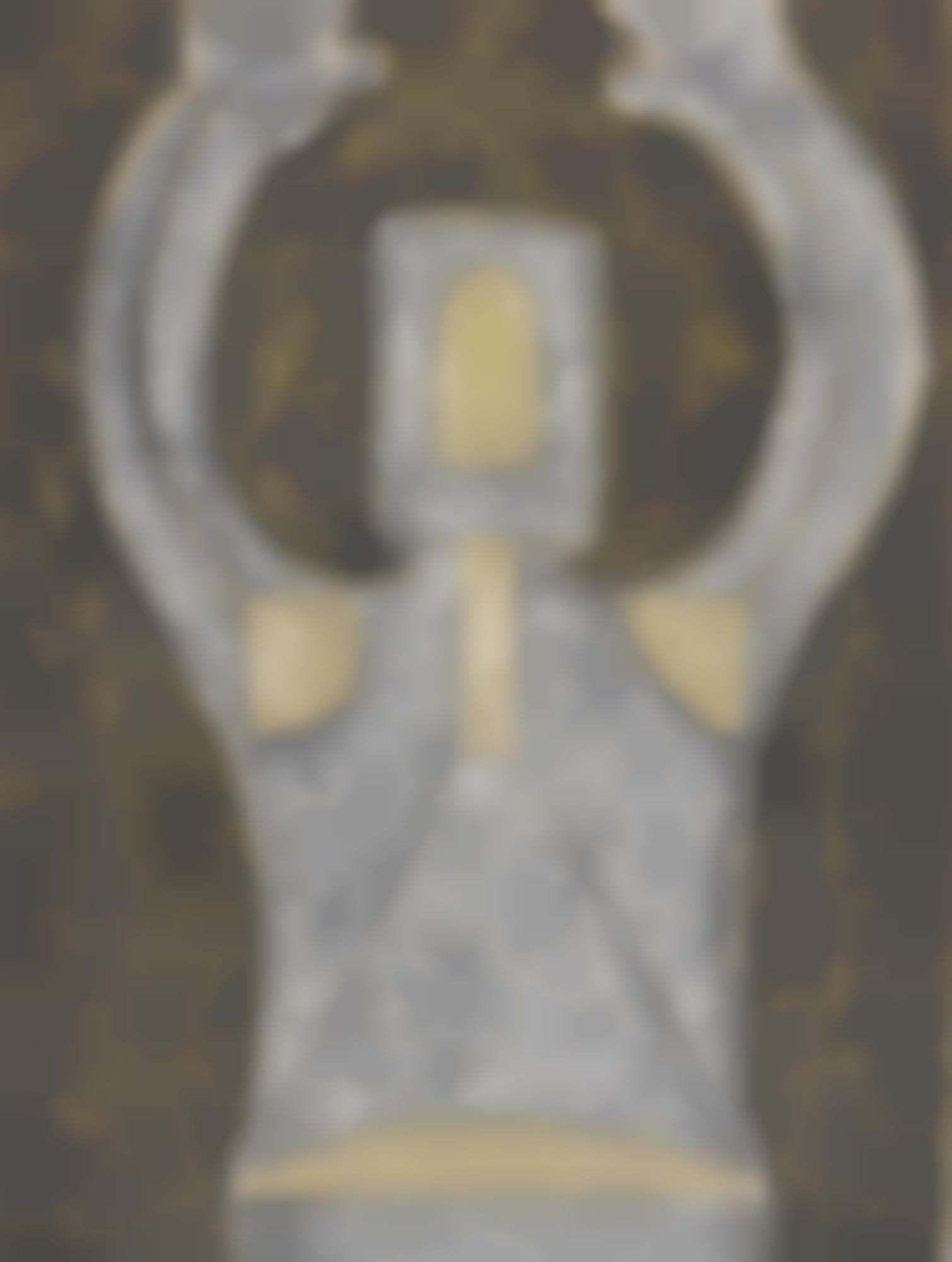 Rufino Tamayo-Personaje En Blanco Hombre Con Sombrero And Dos Cabezas (Fundacion Olga Y Rufino Tamayo 170 175 184)-