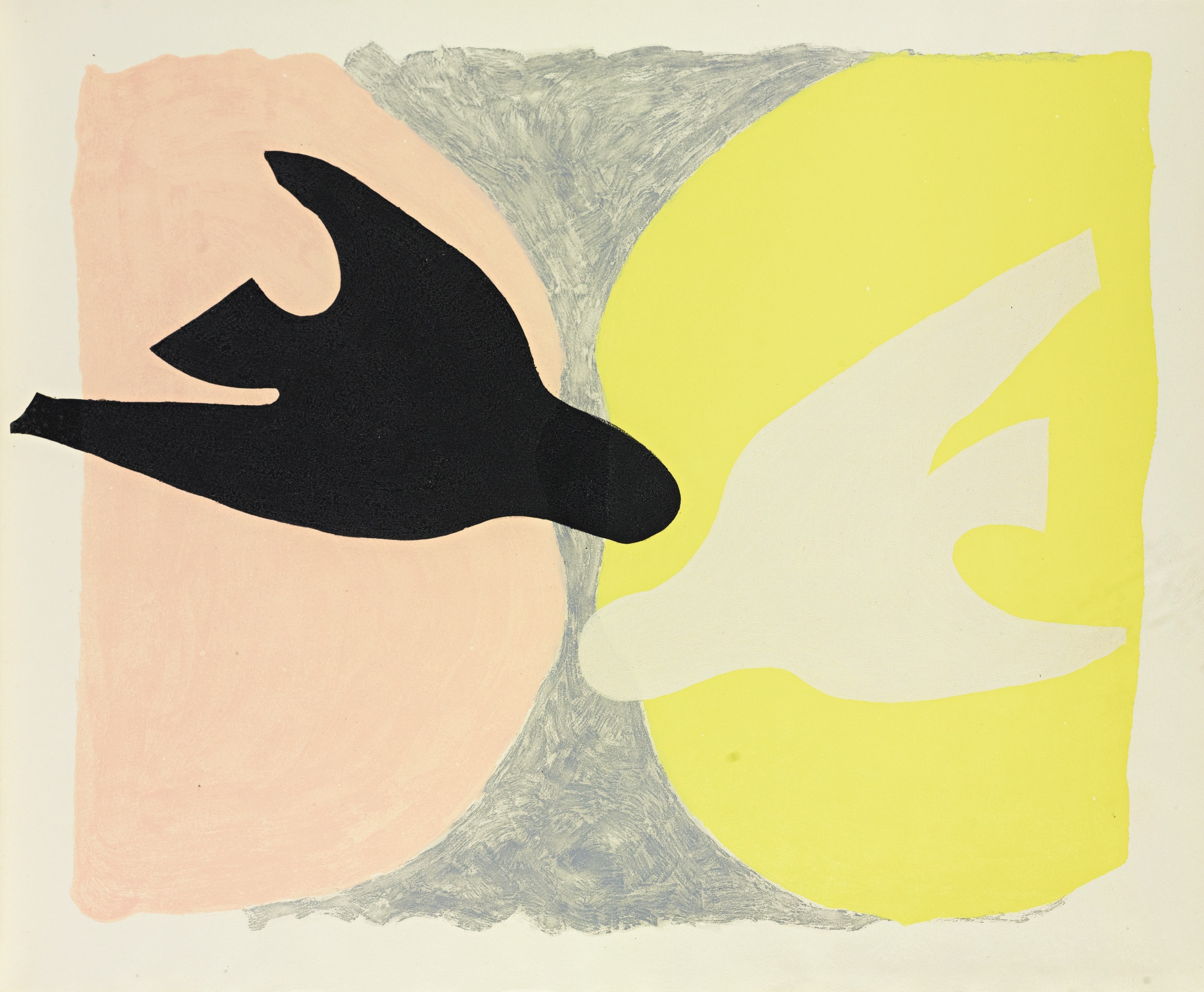 Georges Braque-L'Ordre Des Oiseaux (V. 182)-