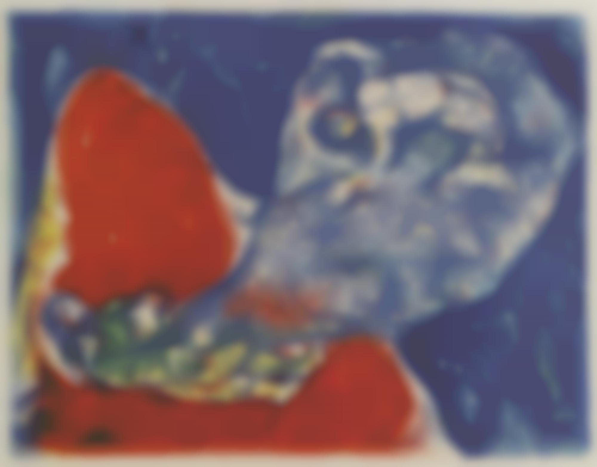Marc Chagall-When Abdullah Got The Net Ashore... (M. 43)-1948