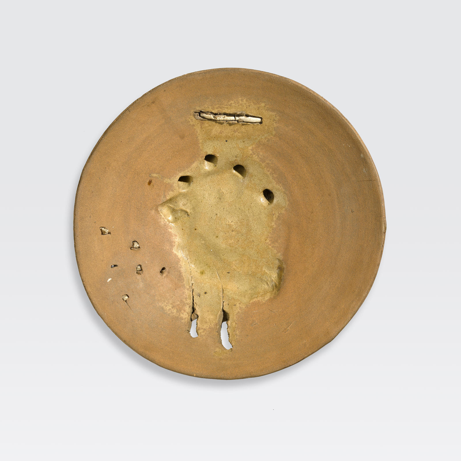 Peter Voulkos-Untitled (plate)-1972