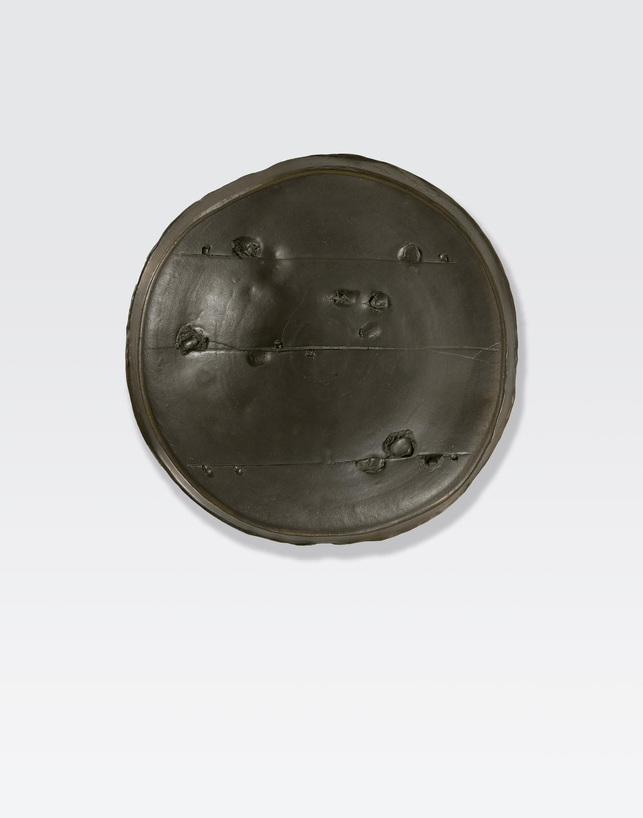 Peter Voulkos-Untitled (plate)-1986