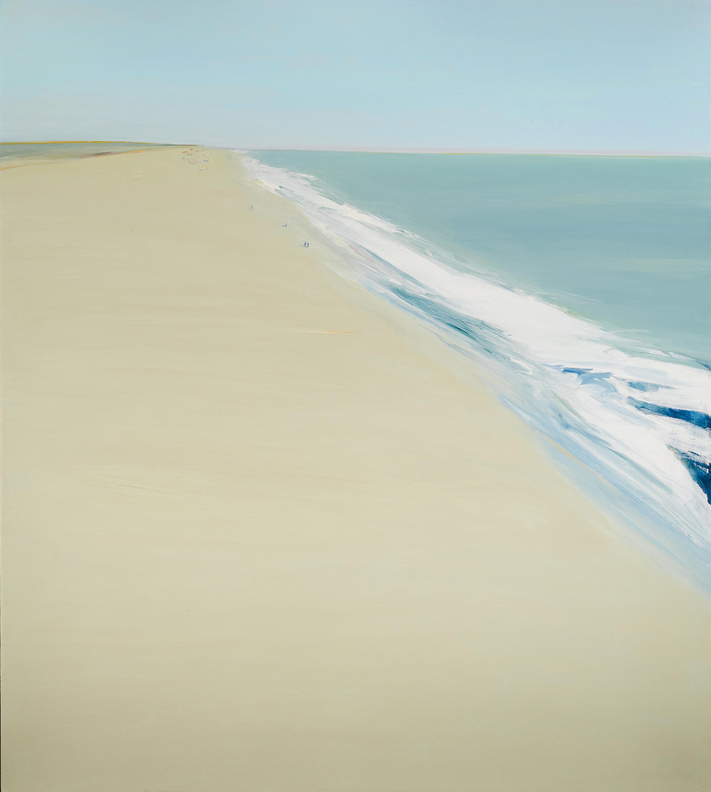 Gregory Kondos-Beach-1975