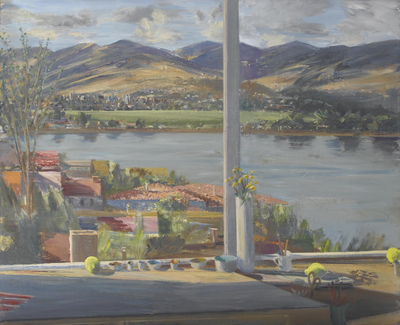 Larry Cohen-View of the Silver Lake Reservoir-2001