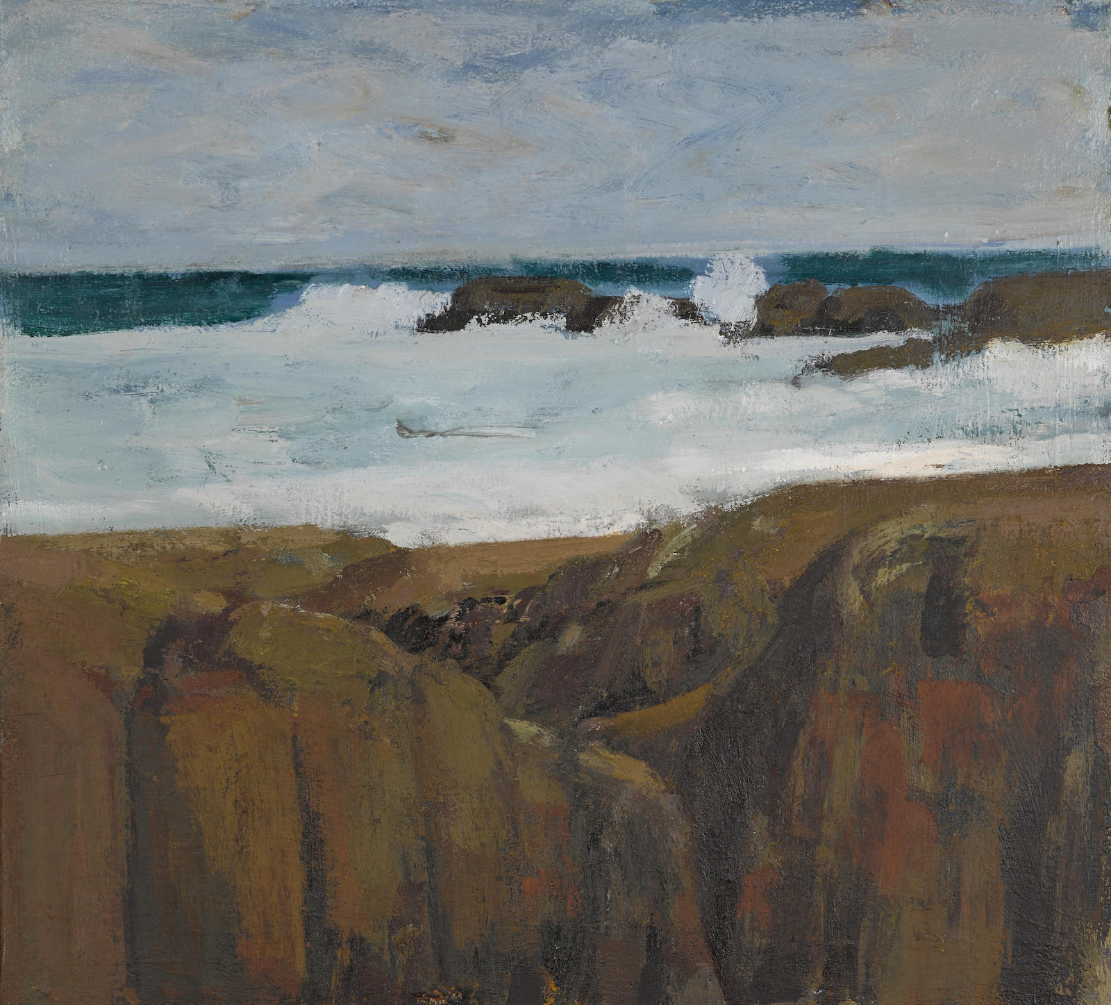 James Weeks-Ocean Surf-1965