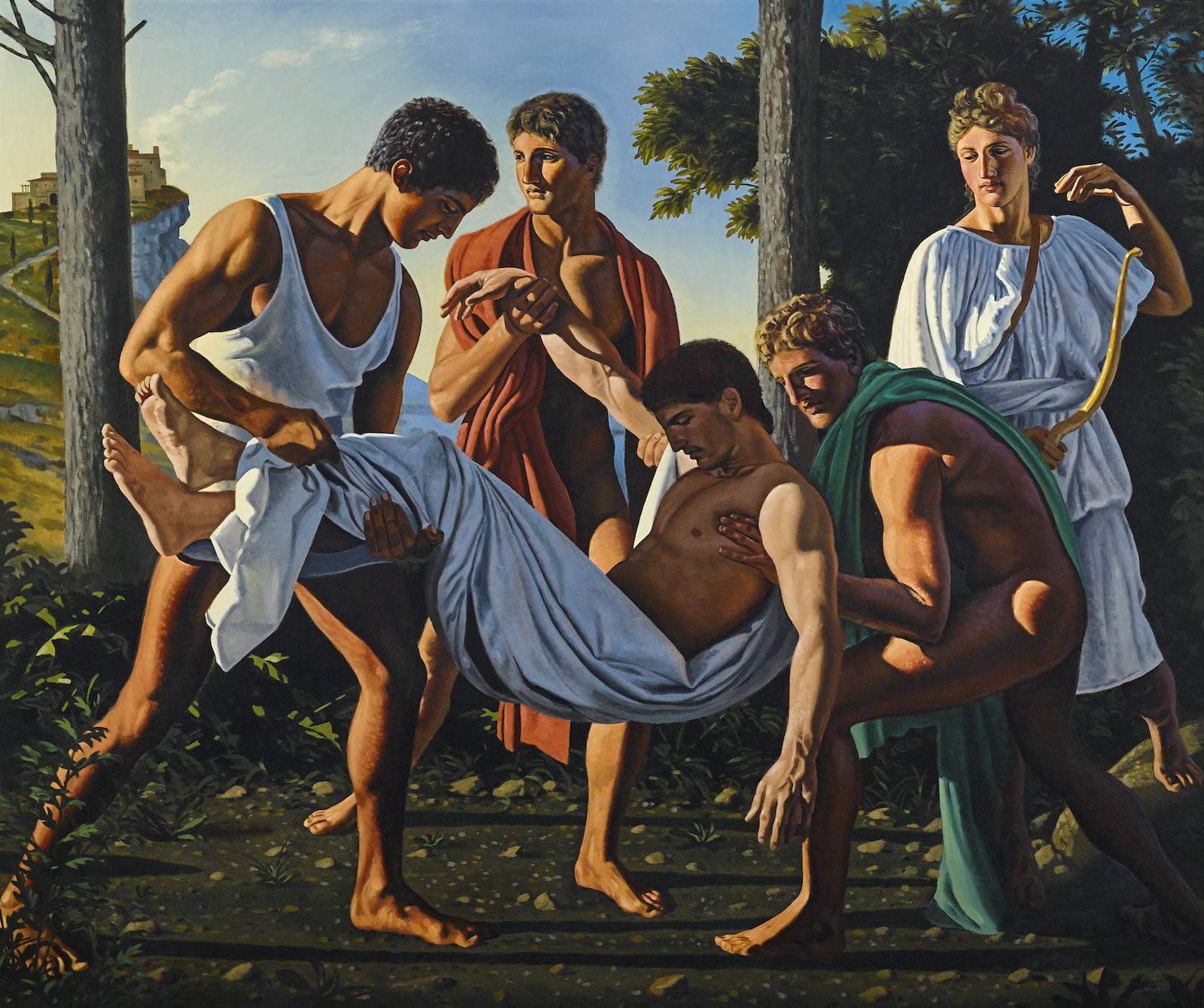 David Ligare-The Death of Meleager-1987