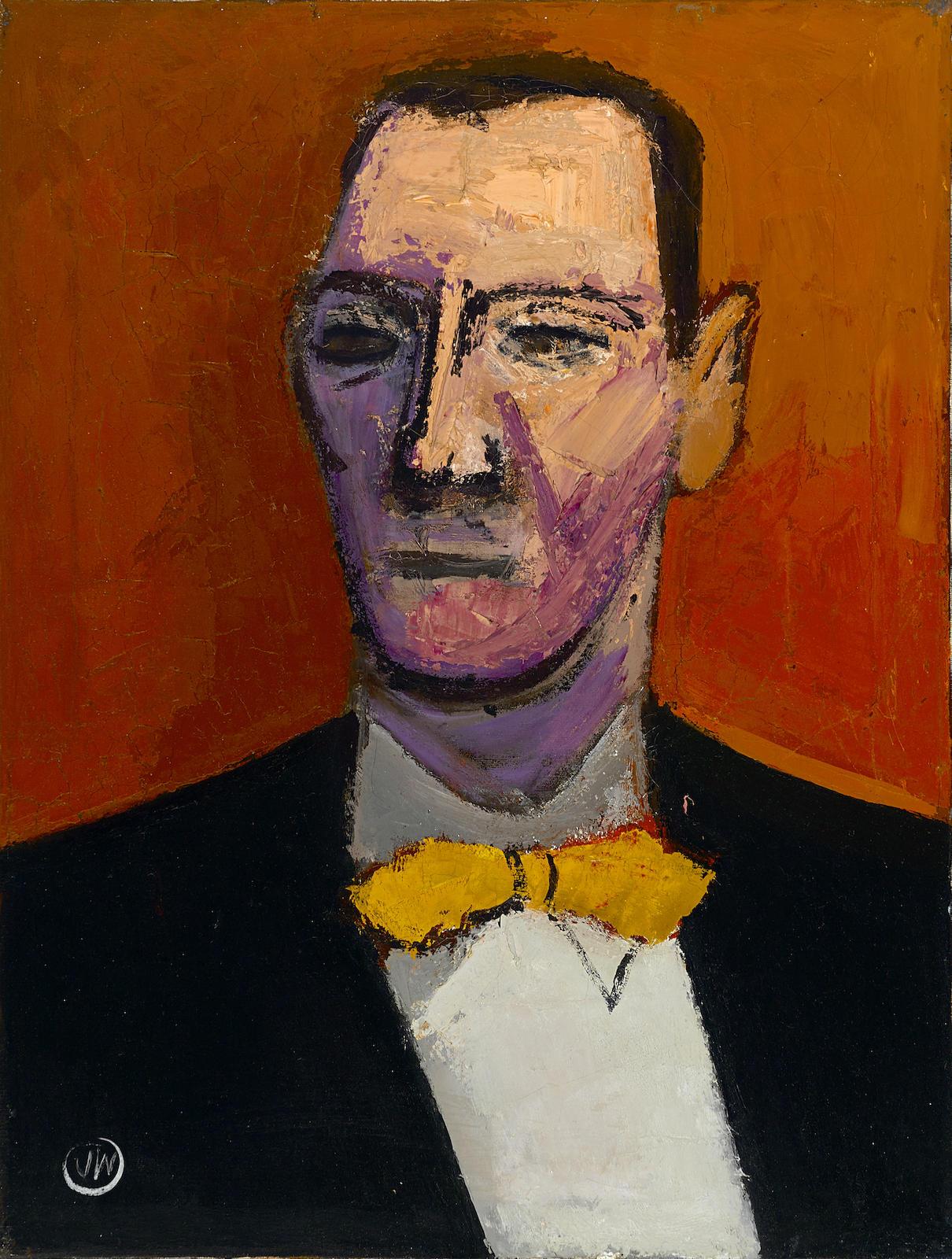 James Weeks-Portrait Head-1949