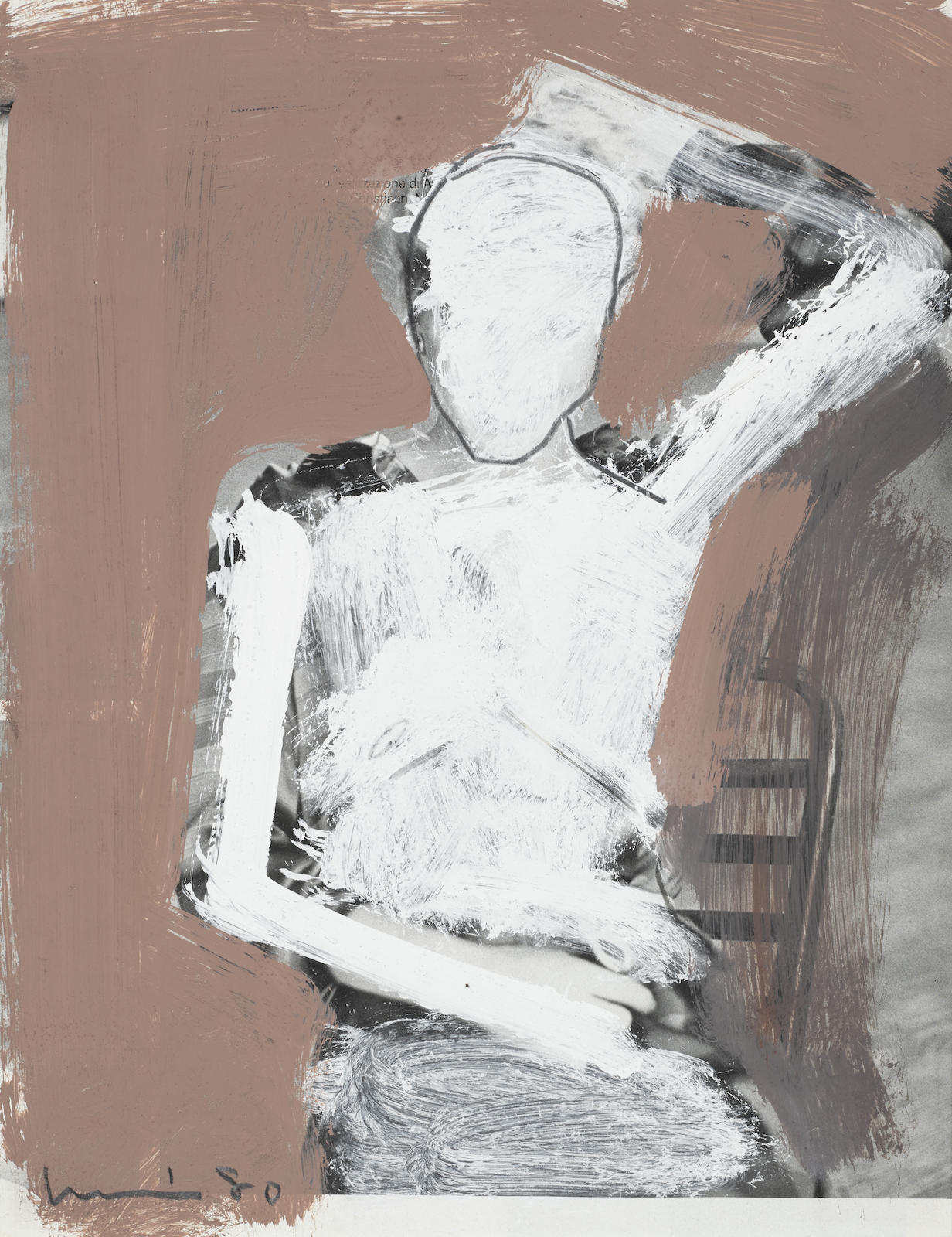 Manuel Neri-Gesture Study #17-1980