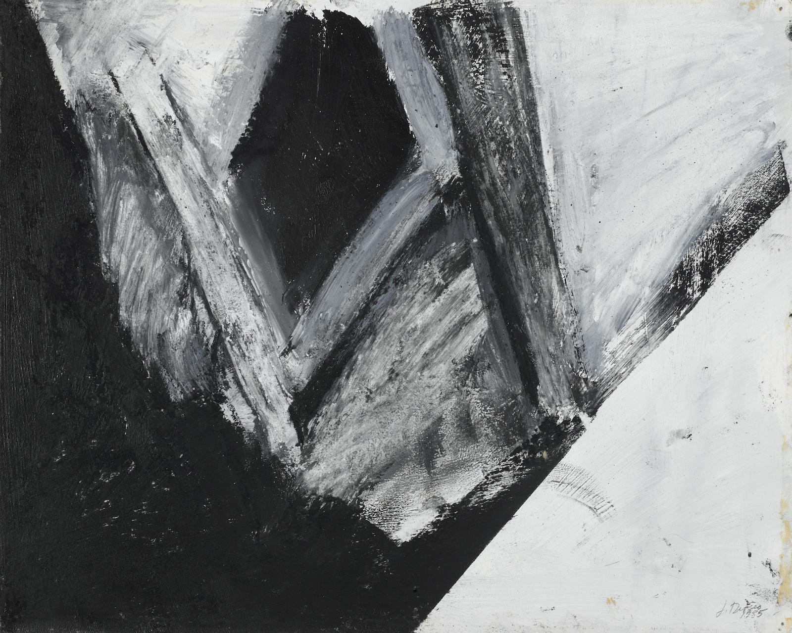 Jay DeFeo-Impressions of Africa #10-1985