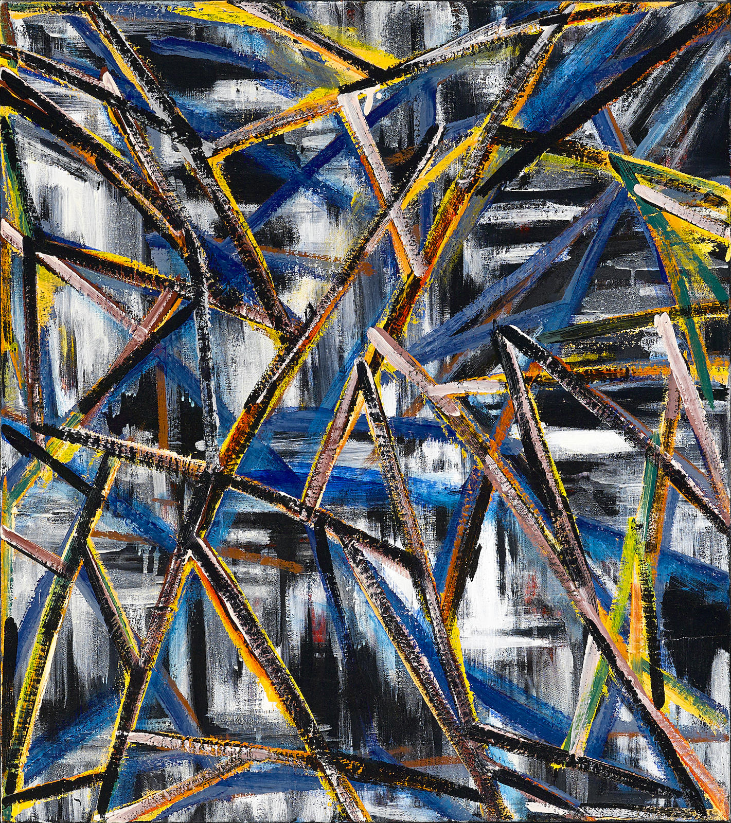 Charles Arnoldi-Tough Times-1989