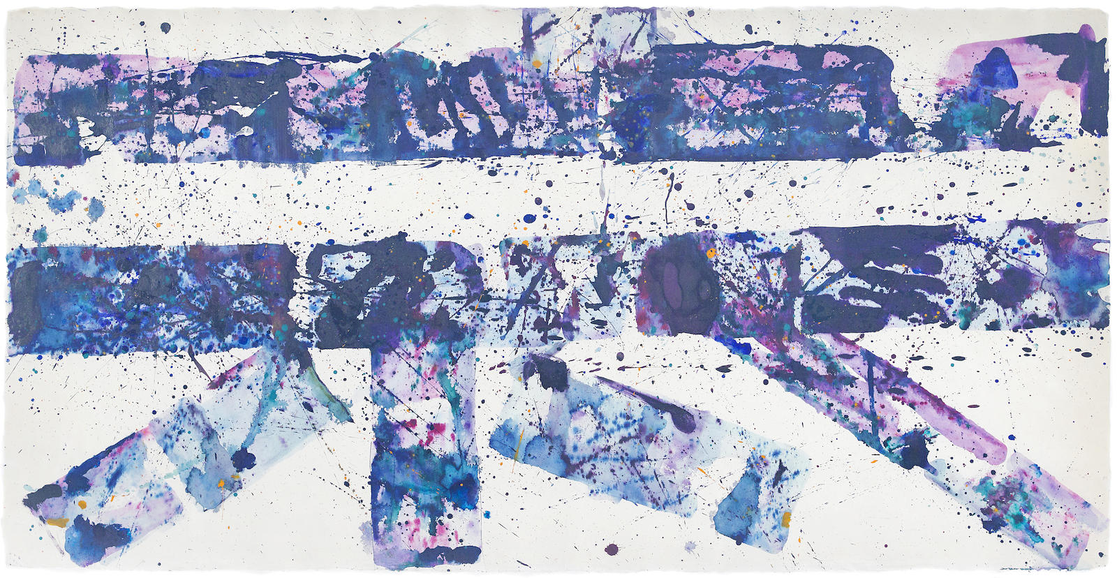 Sam Francis-Untitled (SF77-121)-1977