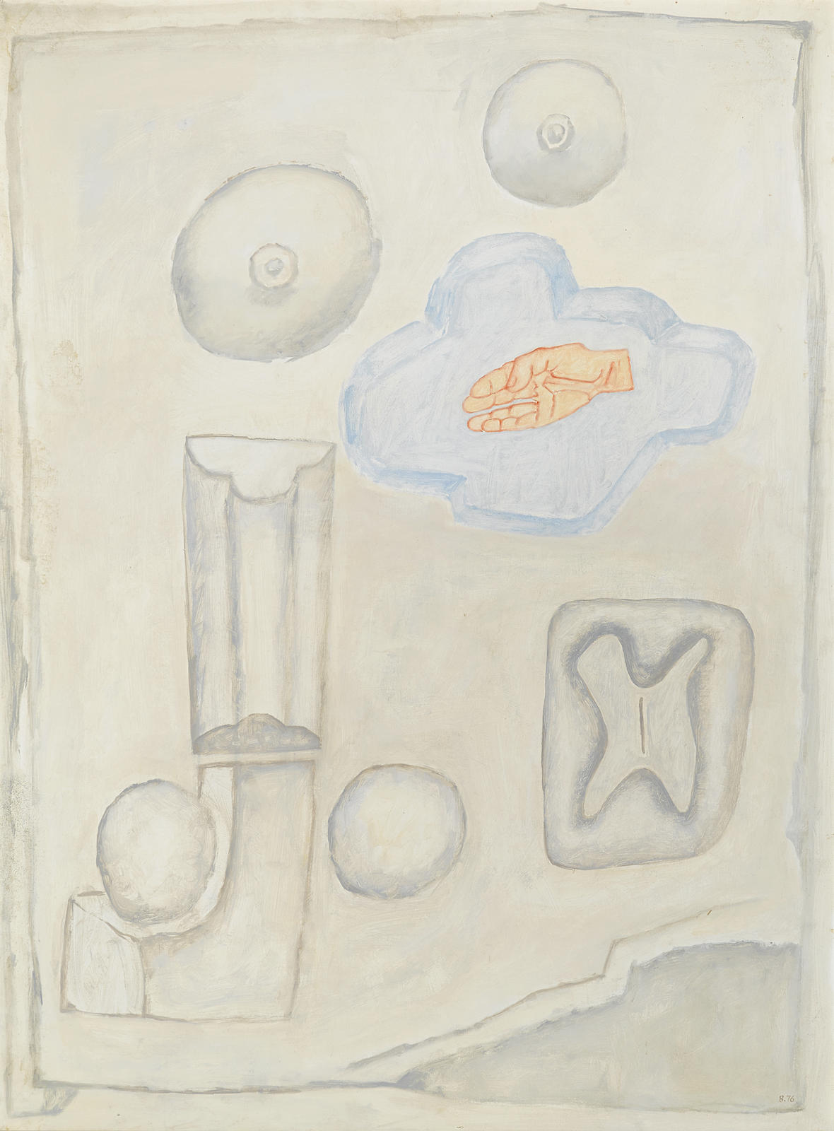 William Brice-Untitled-1976