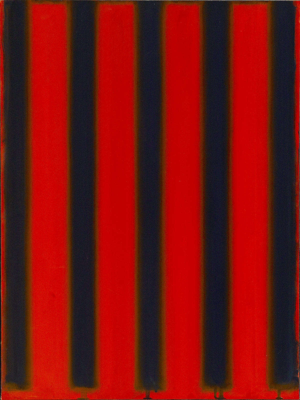 Peter Lodato-Nine, Red and Black; Tibetan Nine-2002