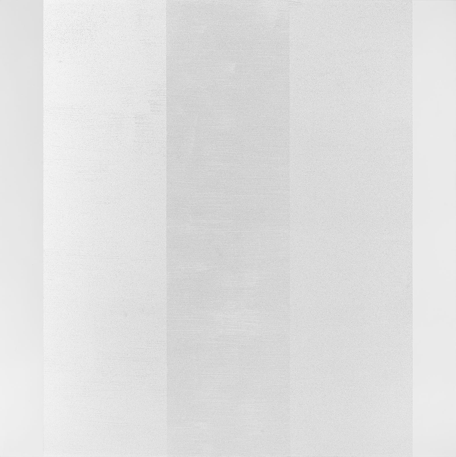 Mary Corse-Untitled (White Flat sides with Three Inner Bands)-2001