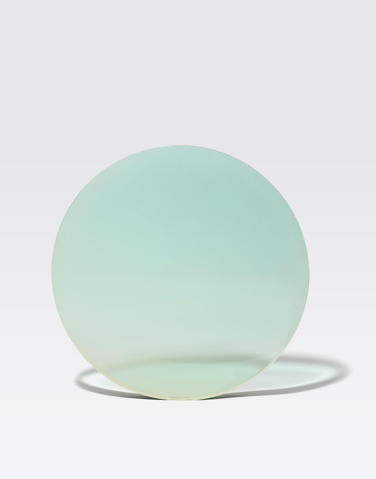 De Wain Valentine-Circle Light-green to Light-blue-1975