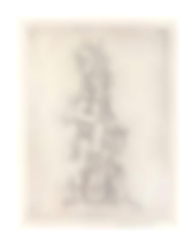 Yves Tanguy-Untitled, from Ivan Goll Le Myth de la roche percee-1947