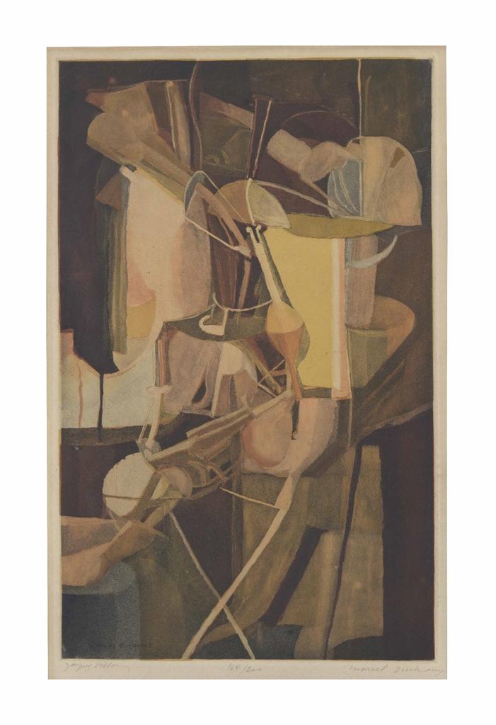 Marcel Duchamp-After Marcel Duchamp - La Mariee-1934