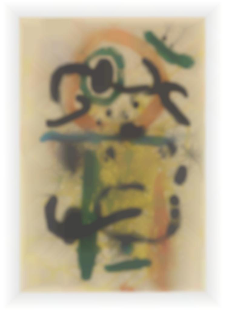 Joan Miro-The Cascade; Pierrot Le Fou-1964
