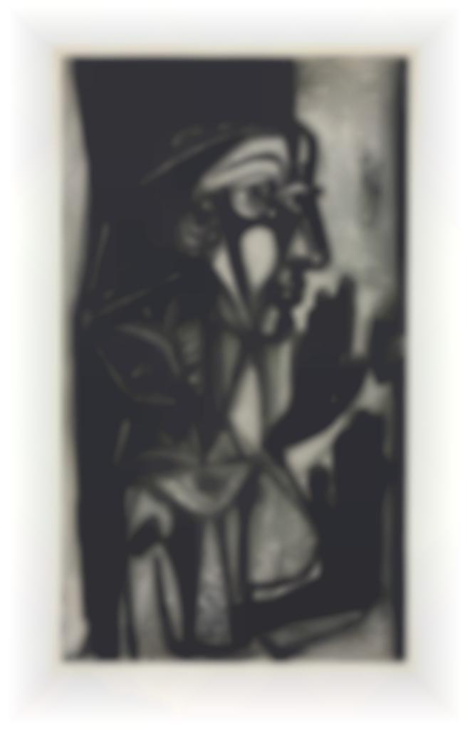 Pablo Picasso-La Femme a la Fenetre-1952