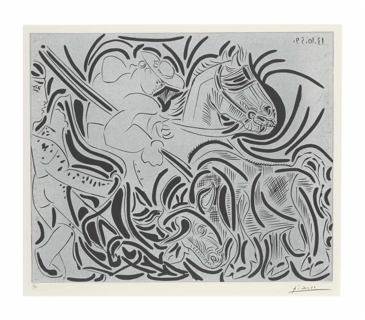 Pablo Picasso-Pique. III-1959