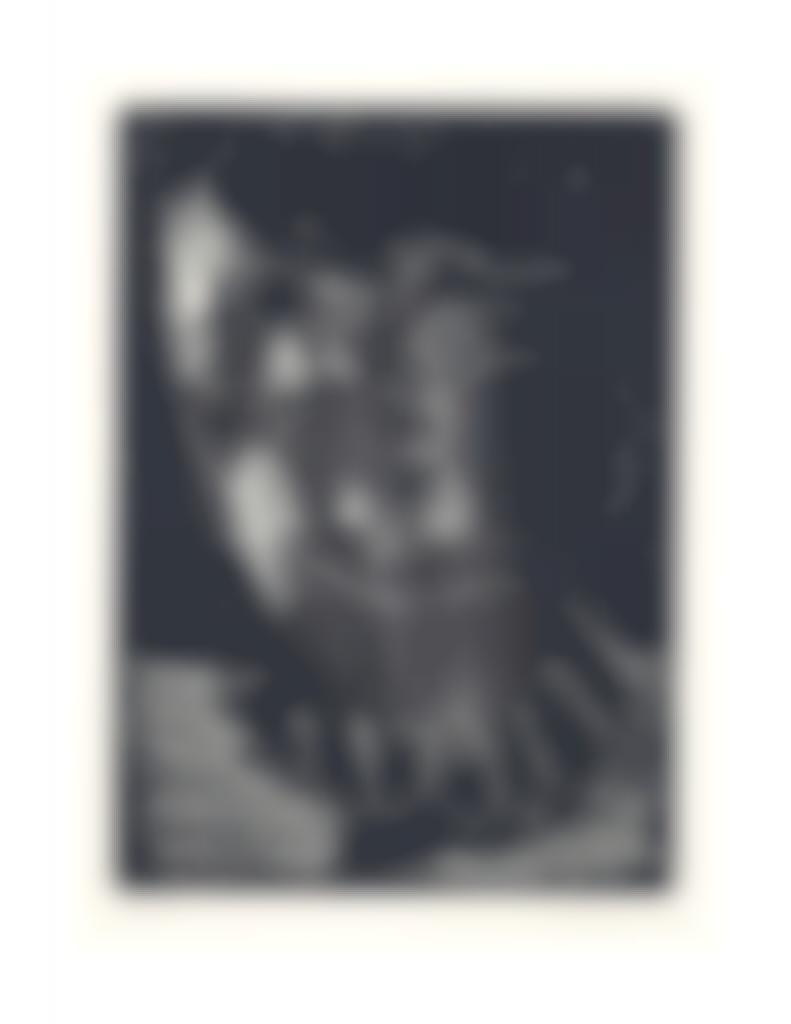Pablo Picasso-Tete d'Homme barbu, from Sable Mouvant-1965