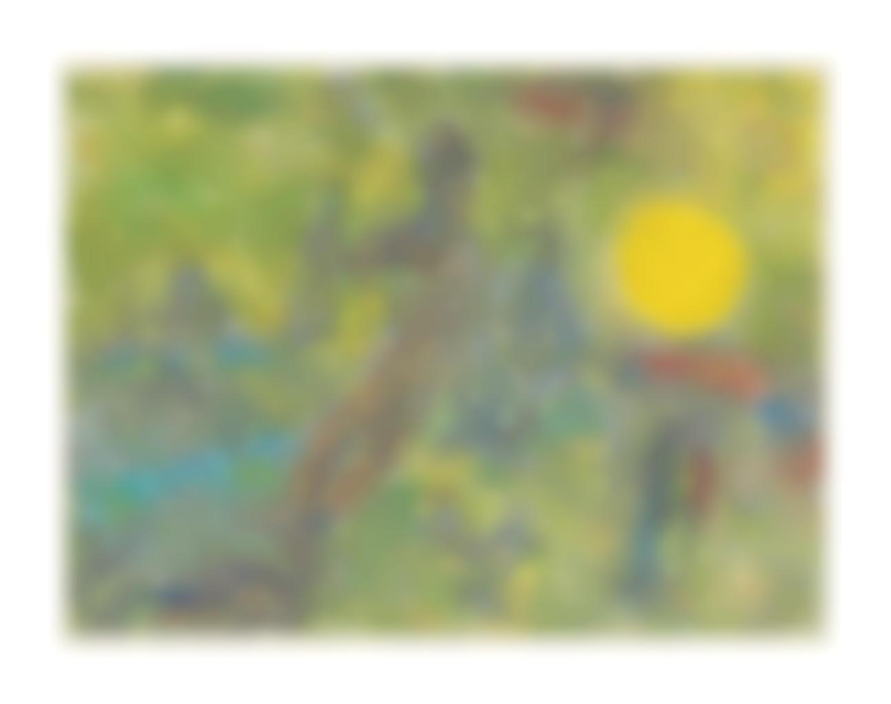 Marc Chagall-Les Maries au soleil jaune-1965