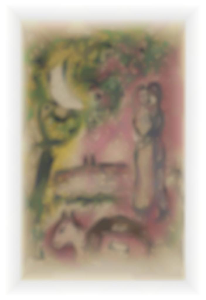 Marc Chagall-Aurore a Saint-Paul-1968