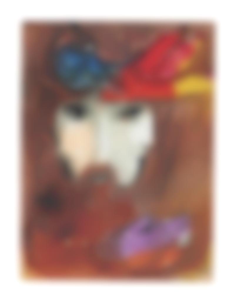 Marc Chagall-Bible, Verve Vol VIII, Nos 33 et 34; La Troisième Jeunesse de Madame Prune-1956