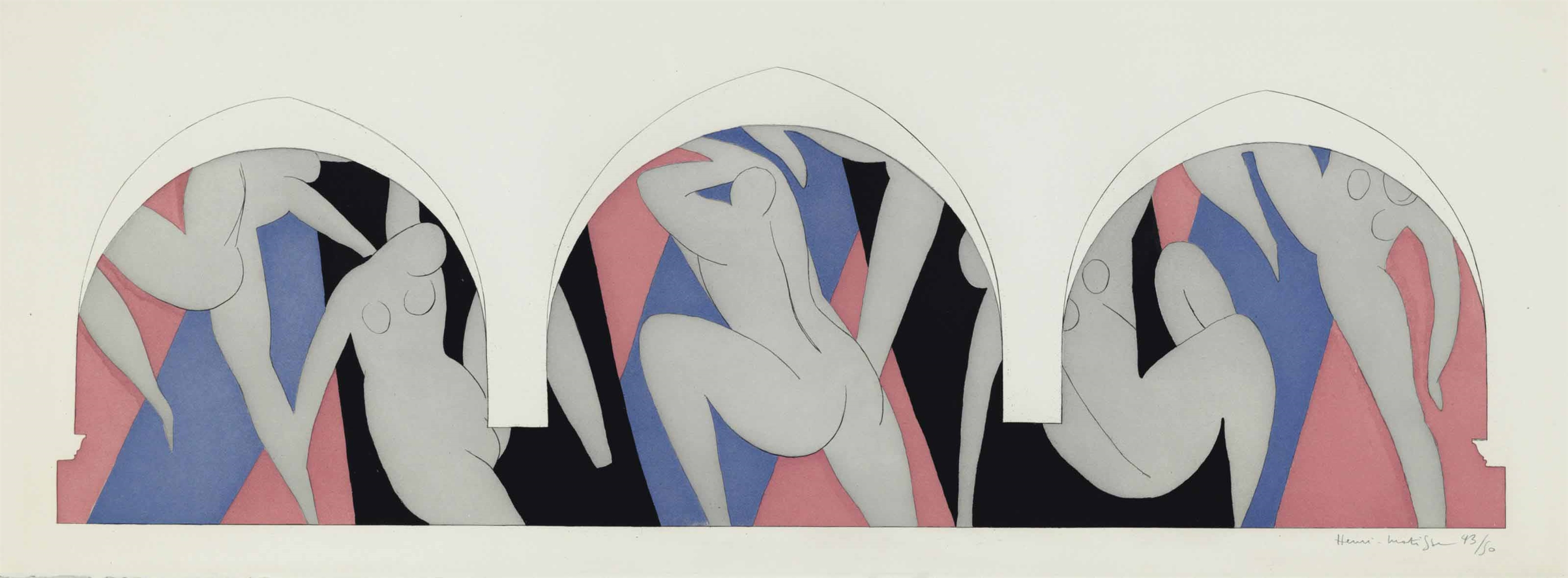Henri Matisse-La Danse-1936