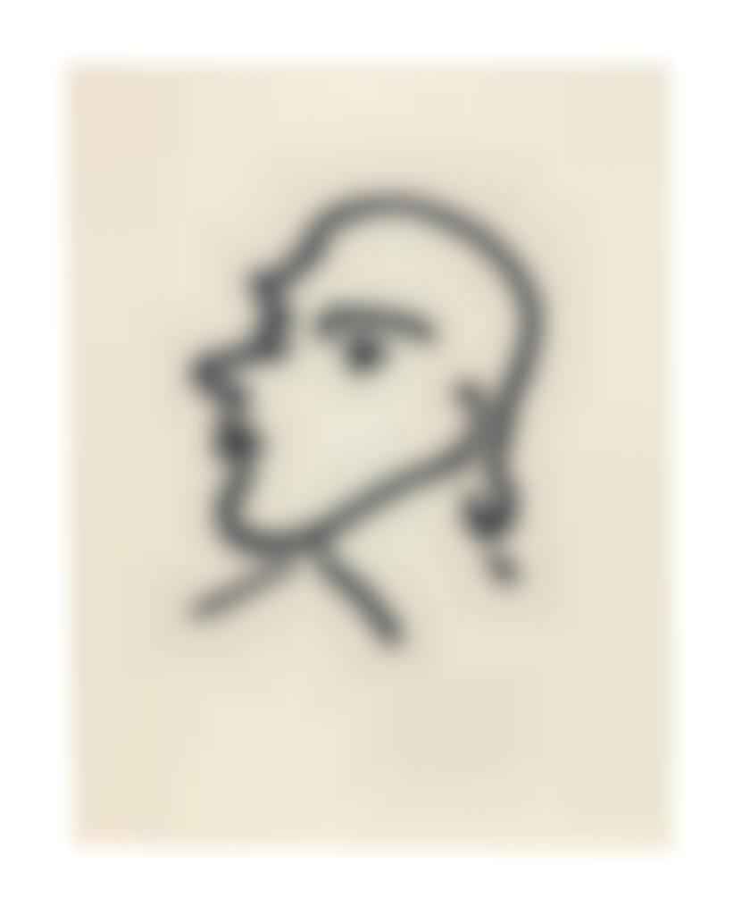 Henri Matisse-Nadia de Profil-1948