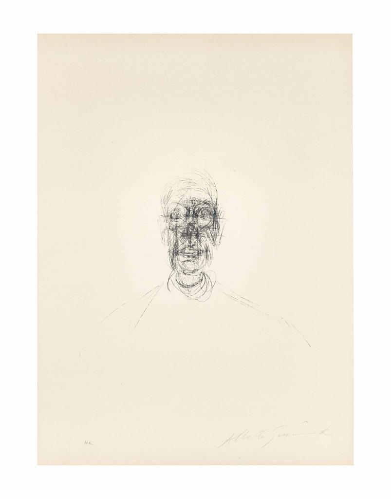 Alberto Giacometti-Tete d'homme-1964