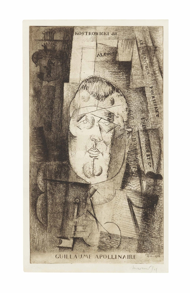 Louis Marcoussis-Guillaume Apollinaire-1920