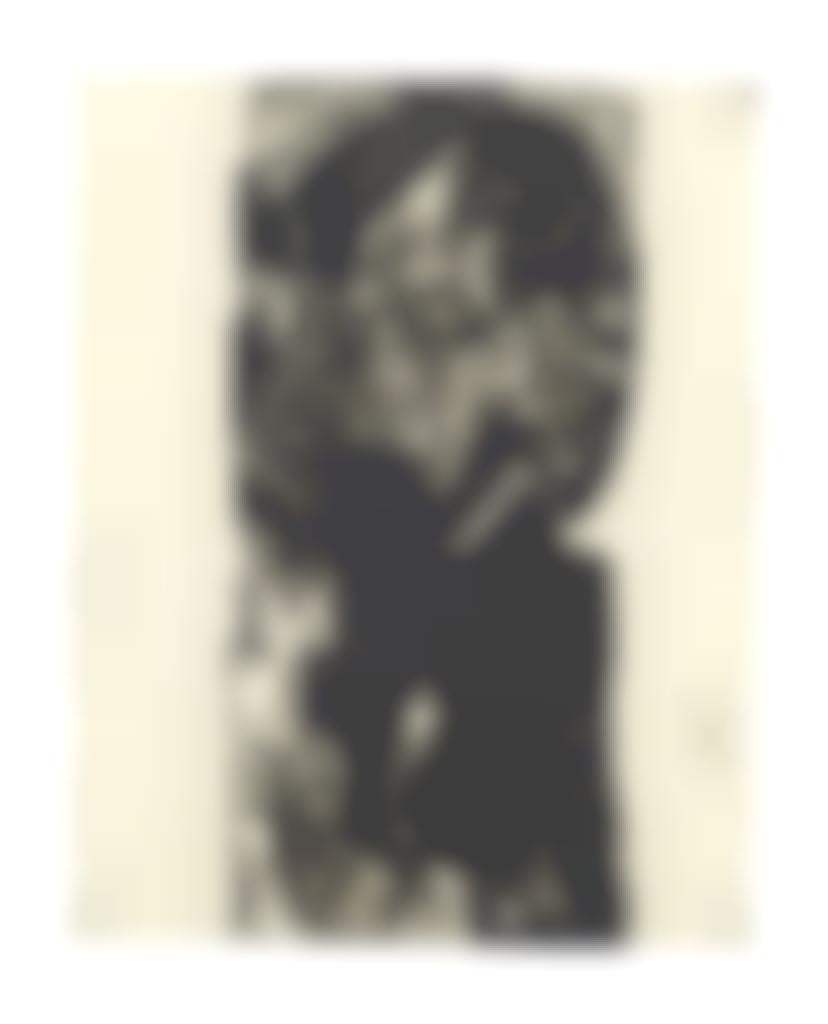 Ernst Ludwig Kirchner-Portrait of Willem van Vloten-1918