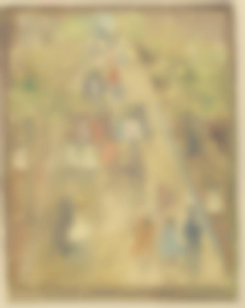 Maurice Brazil Prendergast-Primrose Hill-1894