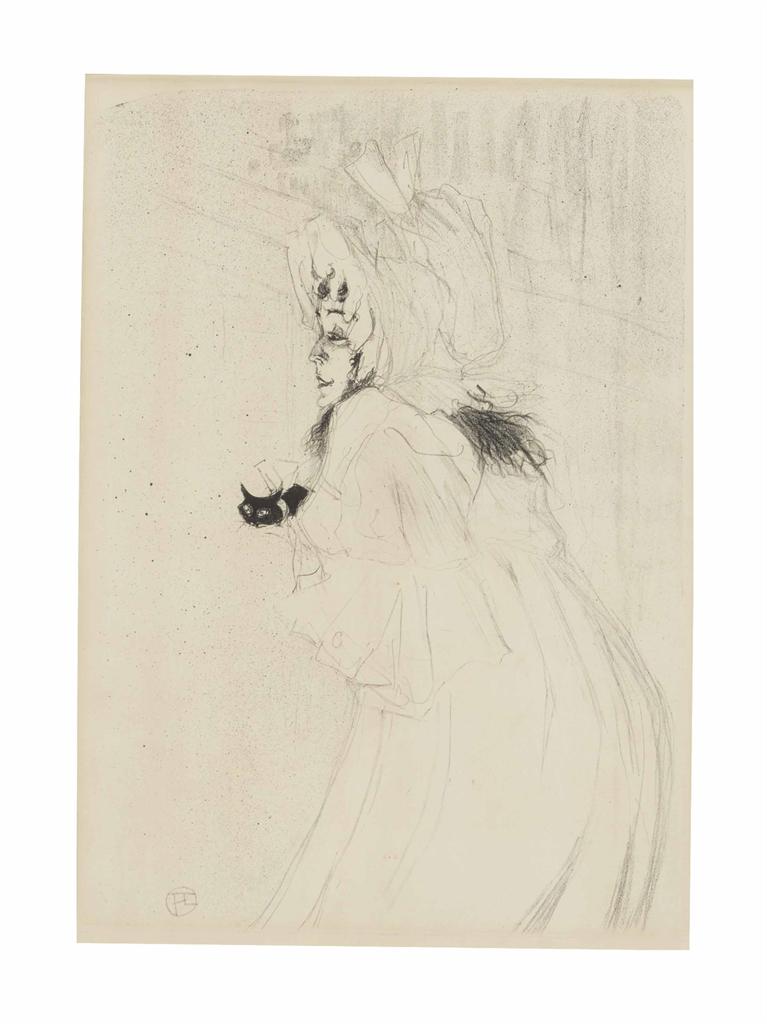 Henri de Toulouse-Lautrec-Miss May Belfort Saluant-1895