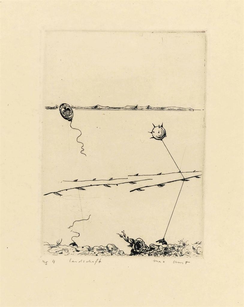 Max Ernst-Pays sage II-1923