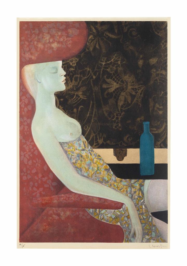 Leonor Fini-La Nuit vaincue-1967