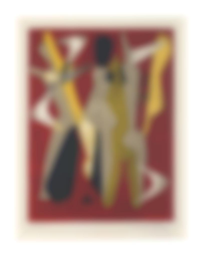 Man Ray-Promenade, from Les mains livres-1965