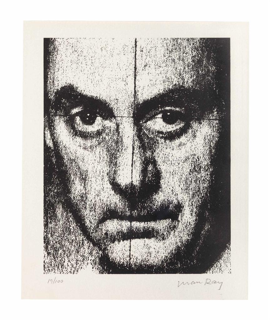 Man Ray-Autoportrait-1972