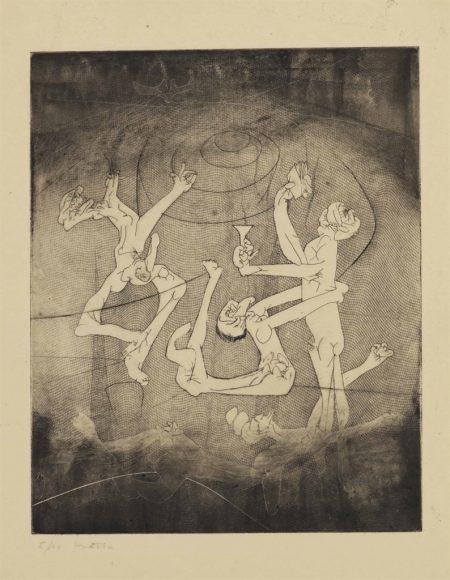 Roberto Matta-Untitled, from The New School-1943