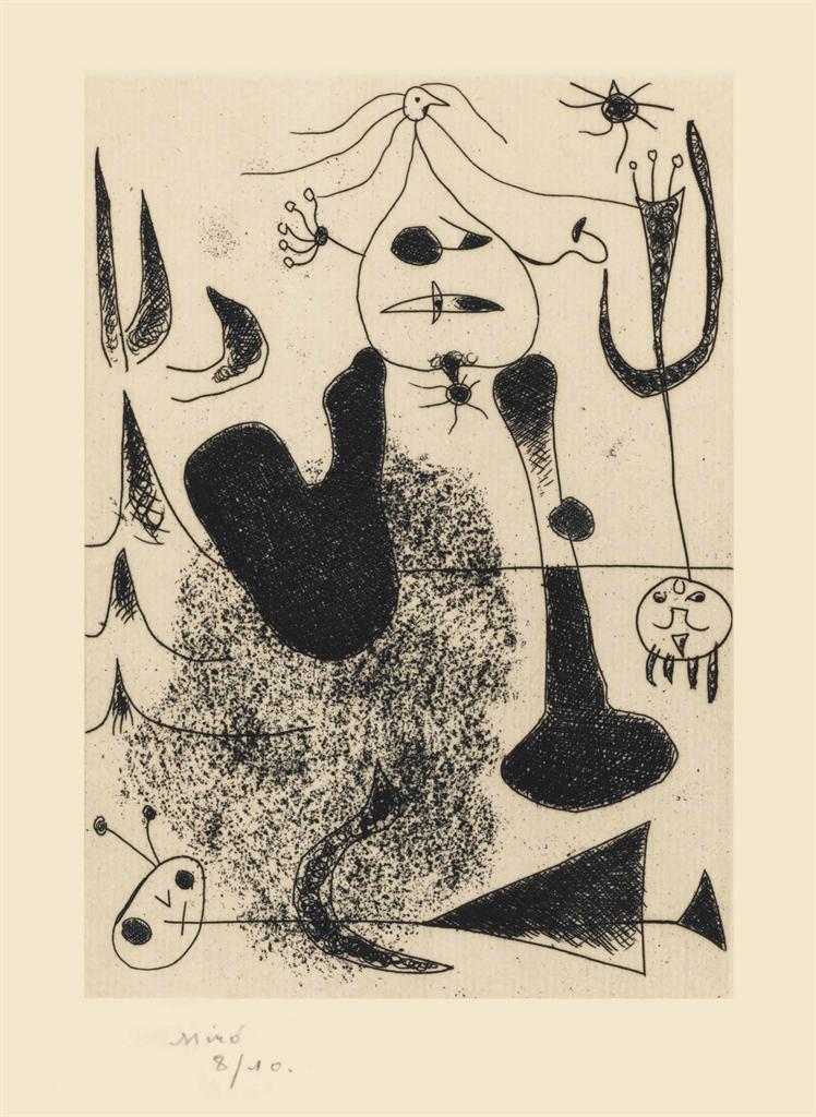 Joan Miro-Sablier couche-1938