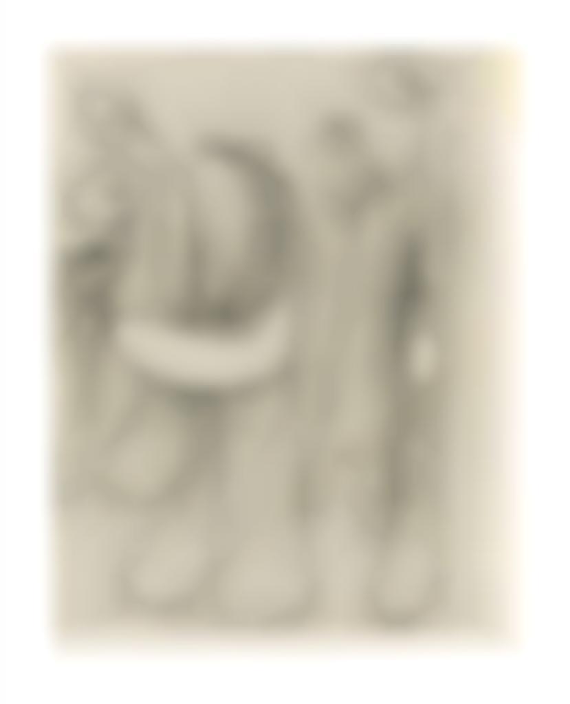 Joan Miro-Untitled, from 24 Essais-1935