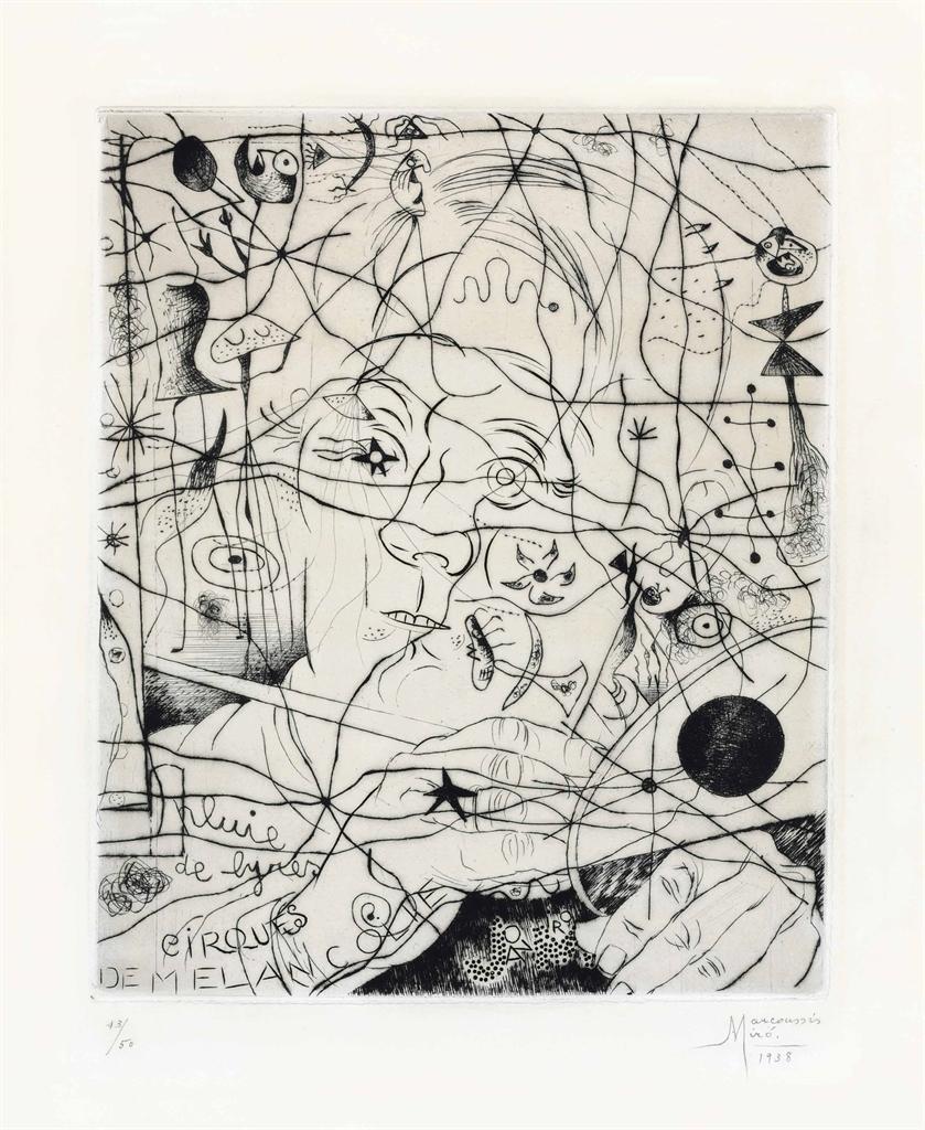 Joan Miro-Portrait de Miro-1938