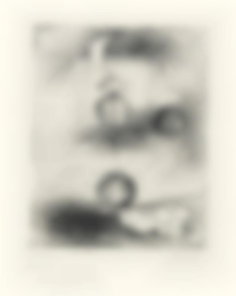 Joan Miro-Untitled, from Paul Elvard Solidarite-1938