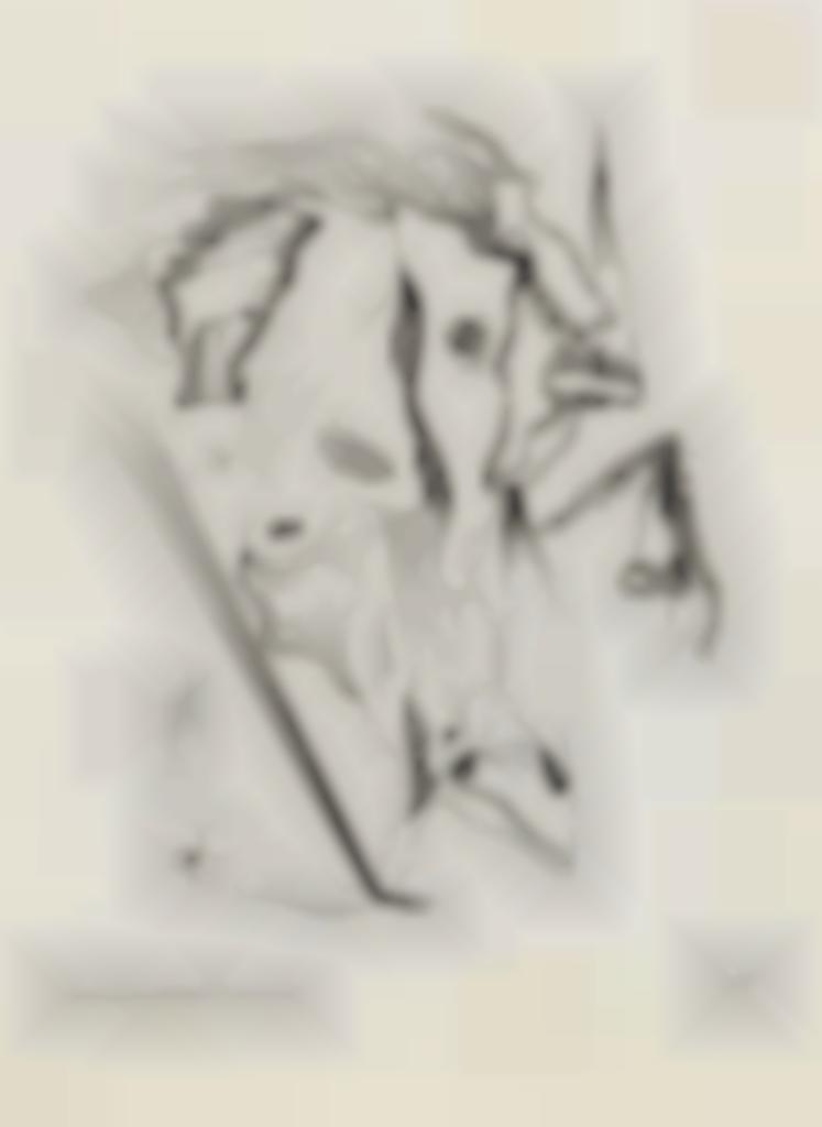 Yves Tanguy-Untitled, from Paul Elvard La Vie immediate-1932