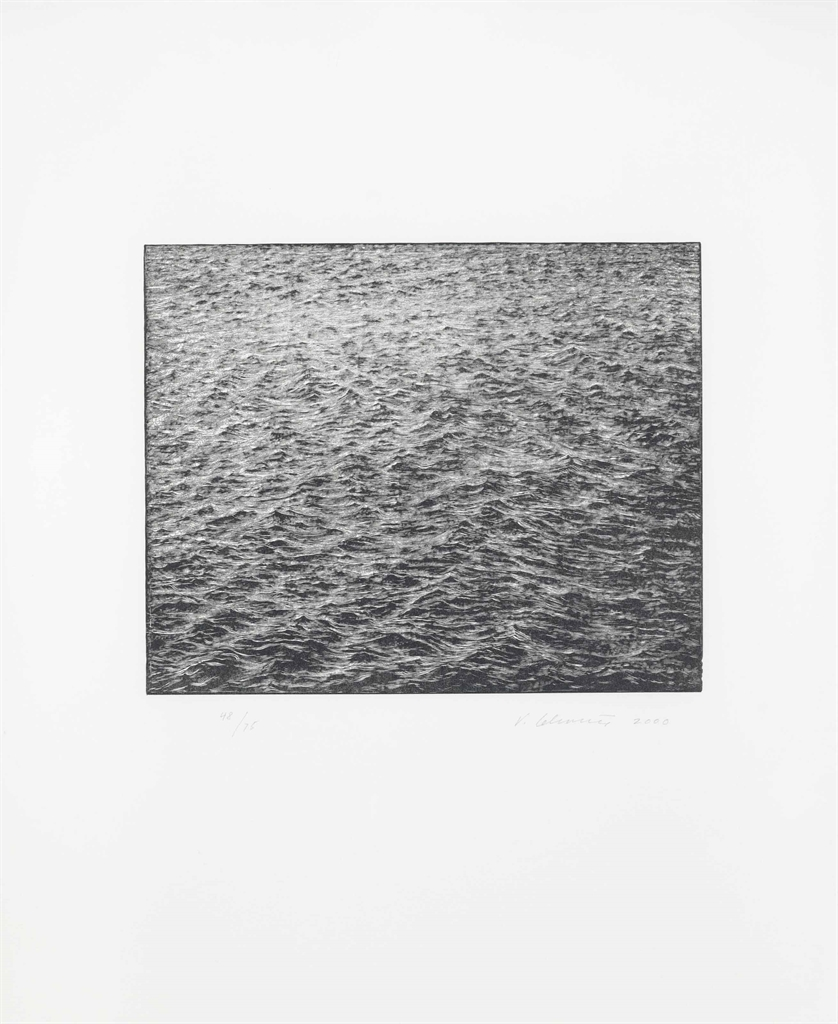 Vija Celmins-Ocean Surface 2000-2000