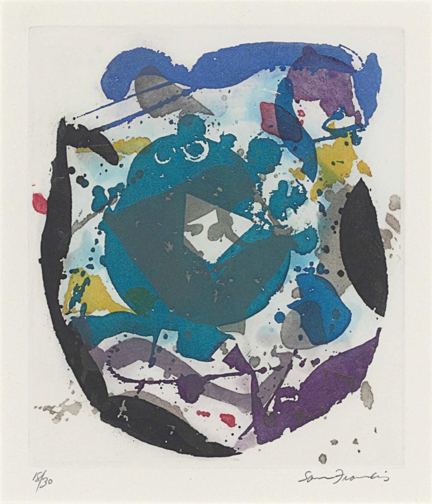 Sam Francis-Untitled-1986
