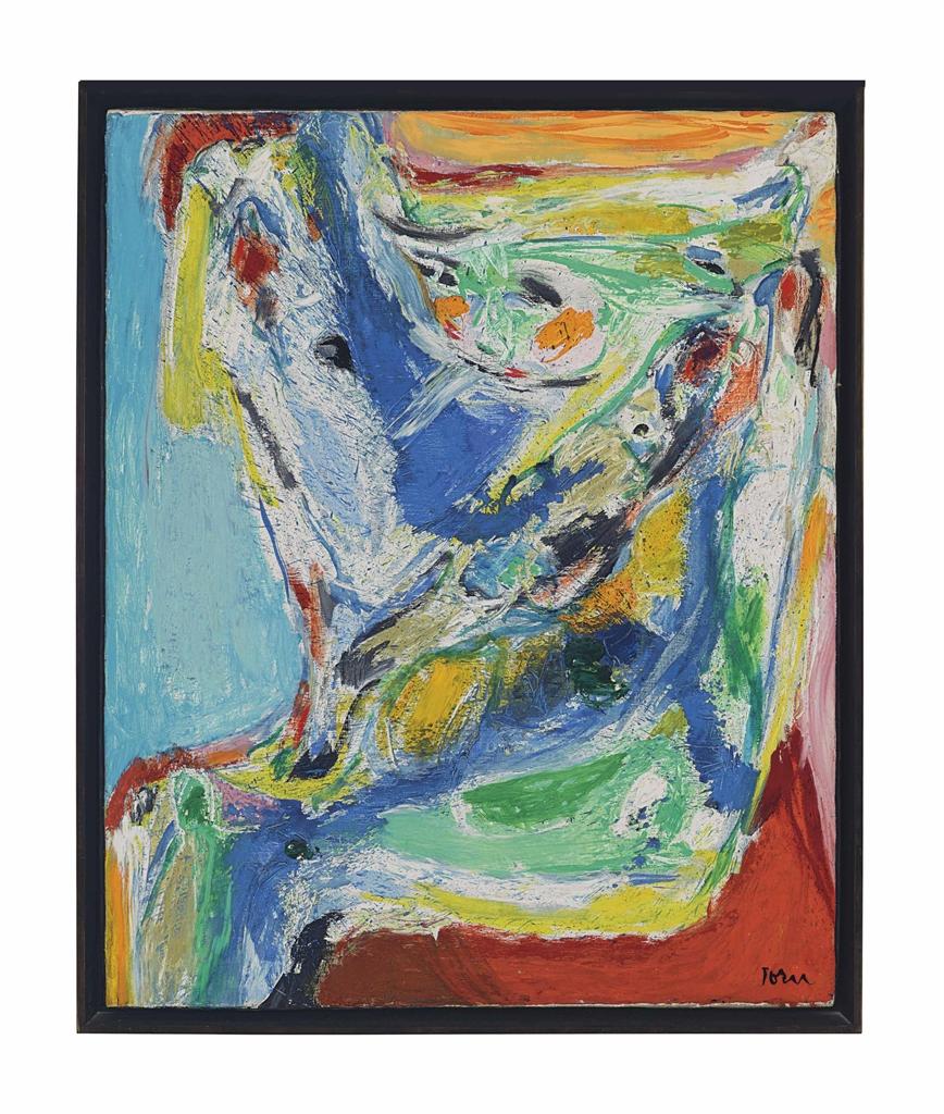 Asger Jorn-Die Windsbraut (The Bride of the Wind)-1972