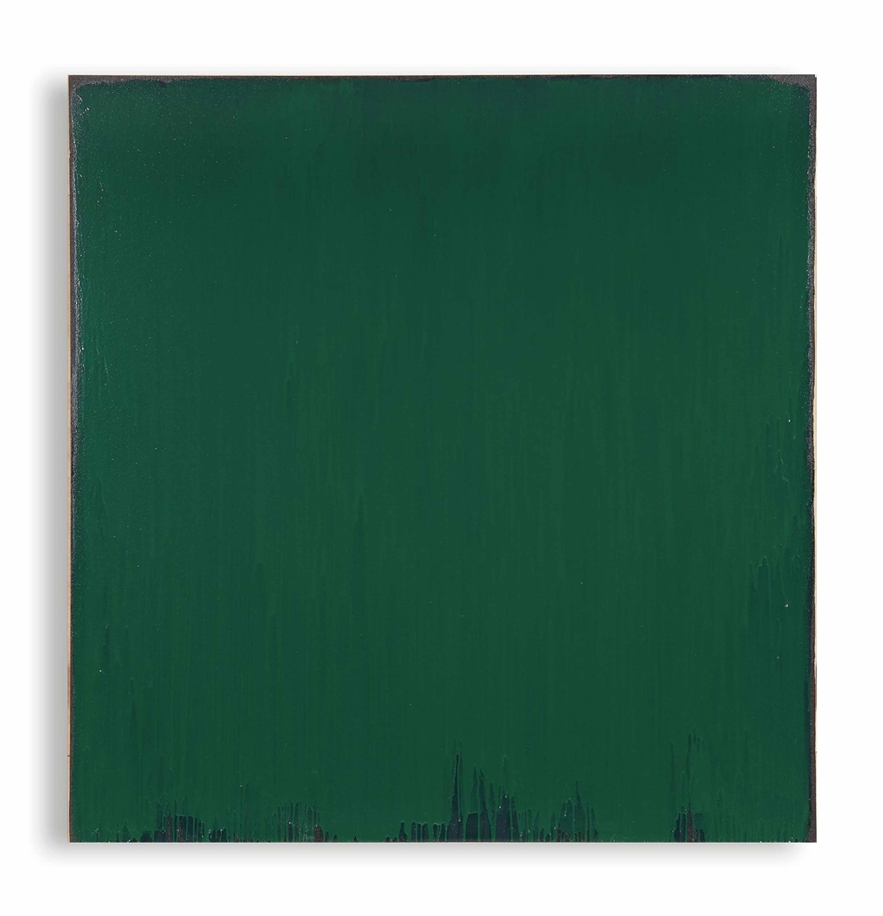 Joseph Marioni-Green Painting-1996